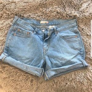 Levi's 515 Vintage Cutoff Rolled Cuff Jean Shorts